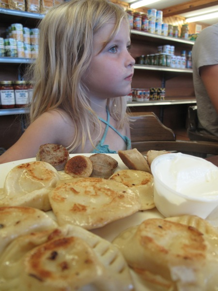 pierogies and a non-extension agent